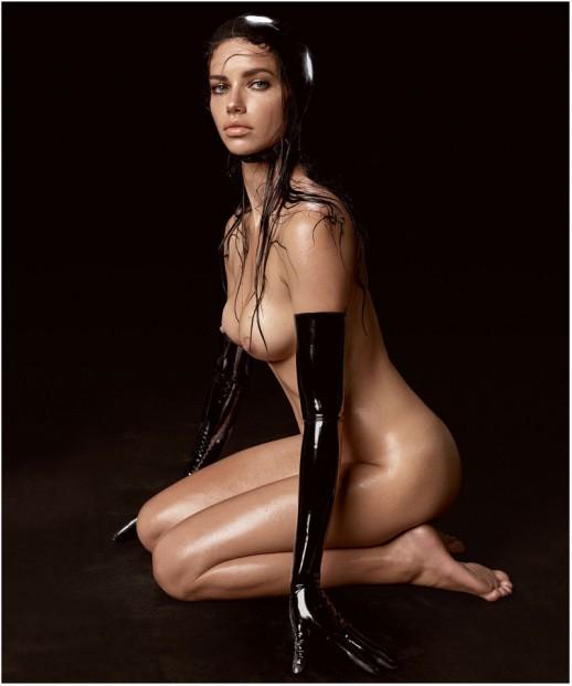 Adriana Lima naked