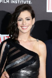 Anne Hathaway nipple peek