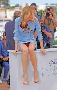 Diane Kruger panty upskirt