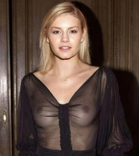 Elisha Cuthbert See Through Top