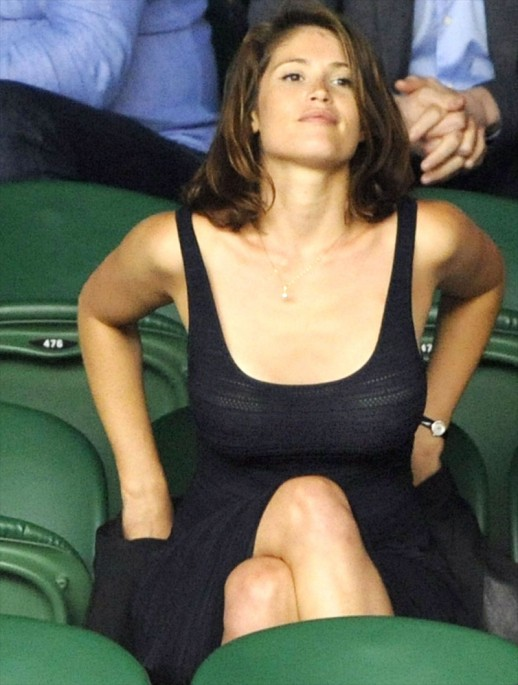 Gemma Arterton braless