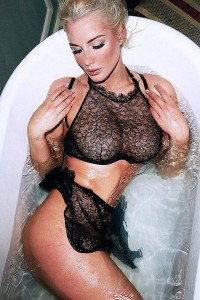 Helen Flanagan see through bra