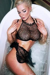 Helen Flanagan see through bra