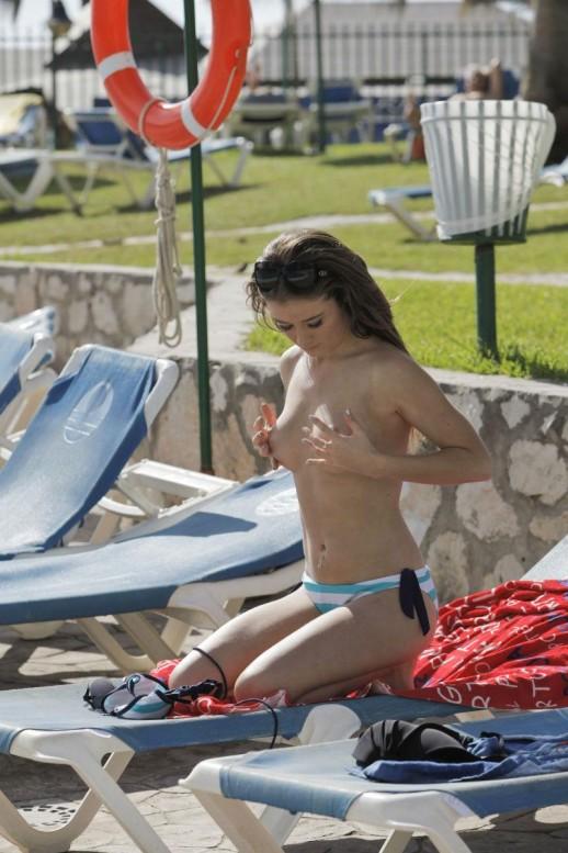 Jessica Impiazzi topless