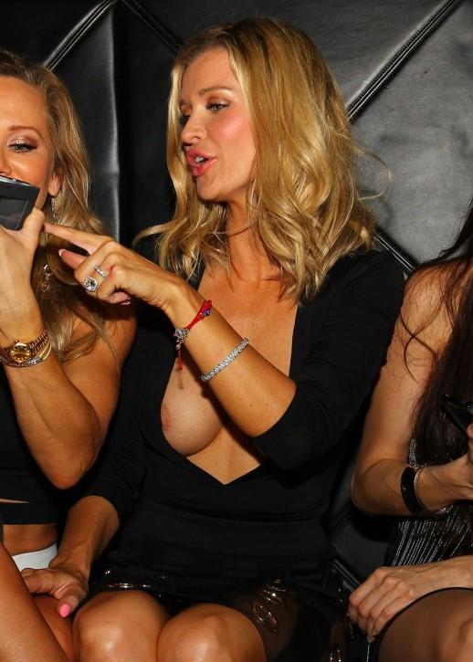 Joanna Krupa nipple slip