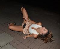 Kayleigh Morris pantie upskirt
