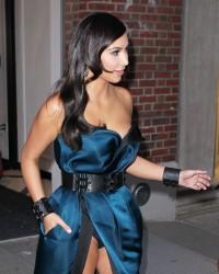 Kim Kardashian pantie upskirt