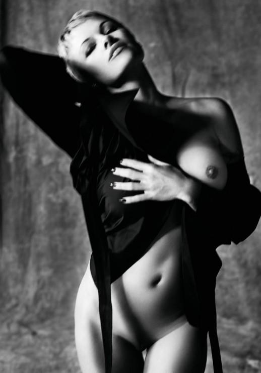 Pamela Anderson naked Purple Magazine