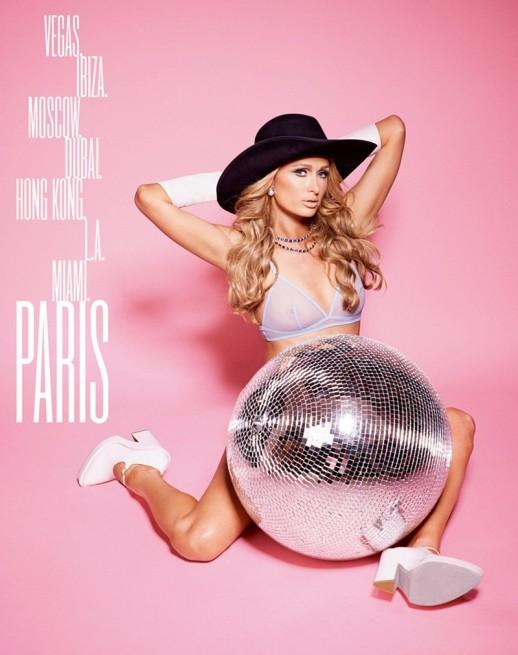 Paris Hilton see through bra