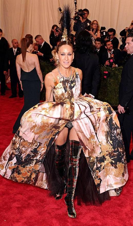 Sarah Jessica Parker Wardrobe Malfunction