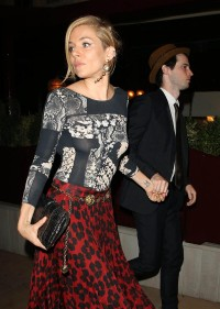 Sienna Miller see through